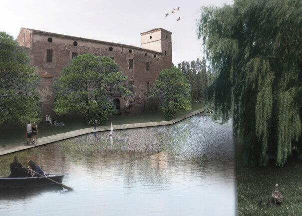 TERNULLOMELO ARCHITECTS venceu o concurso do Edifício Histórico da Rocca