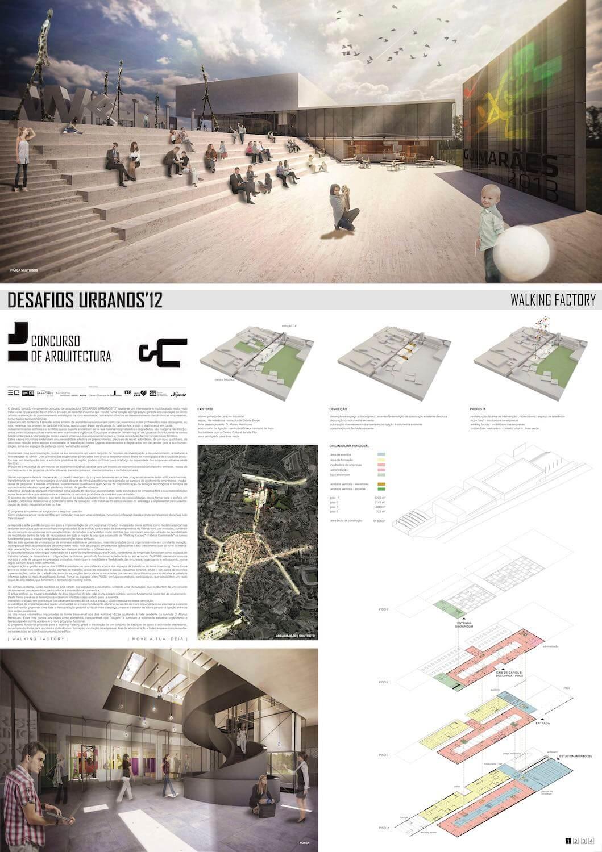 Resultado do Concurso de Ideias Desafios Urbanos'12