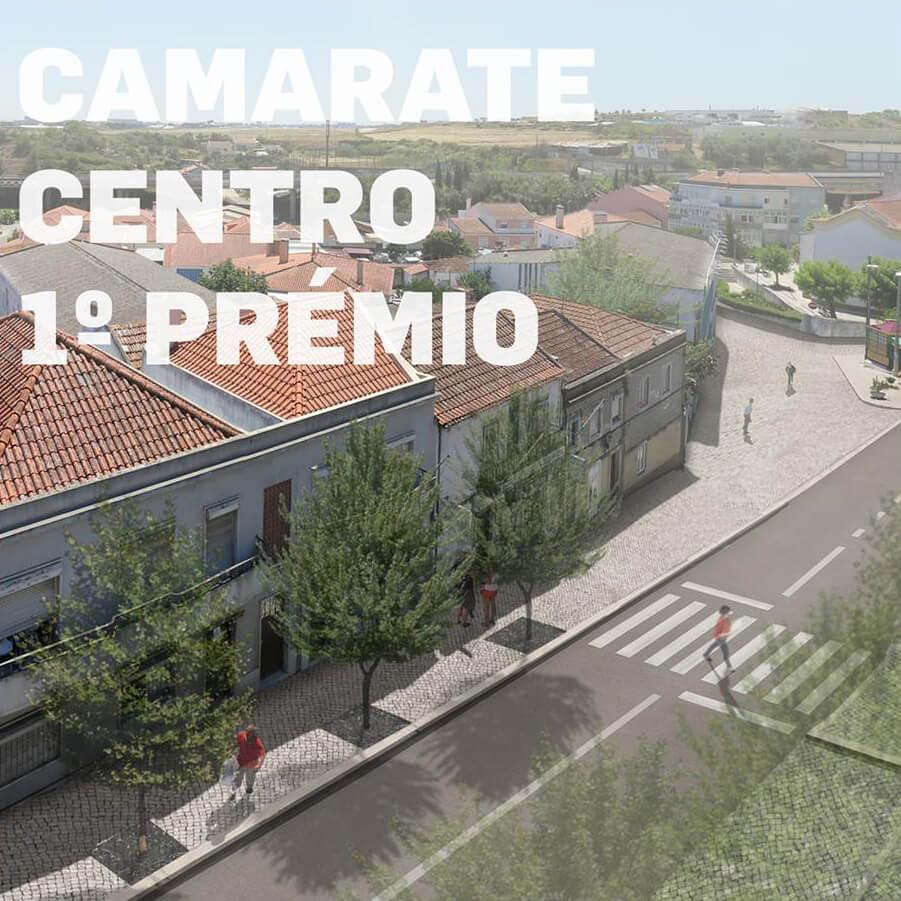 José Adrião Arquitectos vence concursos de revitalização do Centro Urbano de Loures Centro e Camarate Centro