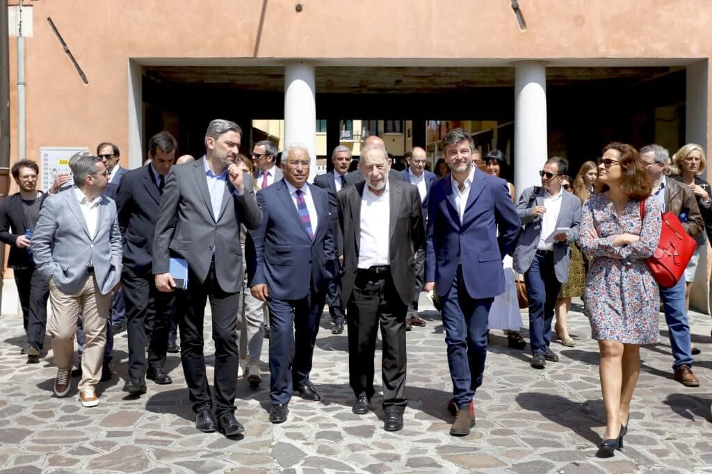 "Siza desembrulhou a ""prenda"" que Portugal quis dar a Veneza"