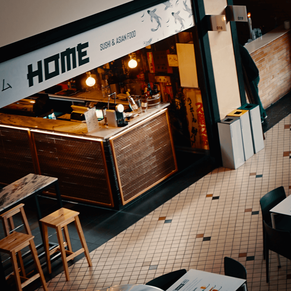 HOME | Sushi & Asian Food