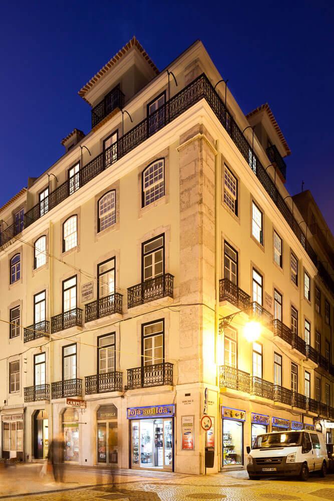 Edifício Pombalino à Rua da Assunção