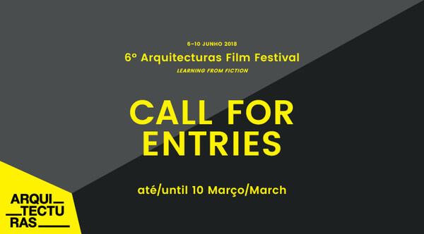 Arquitecturas 2018: Lançamento do Call for Entries