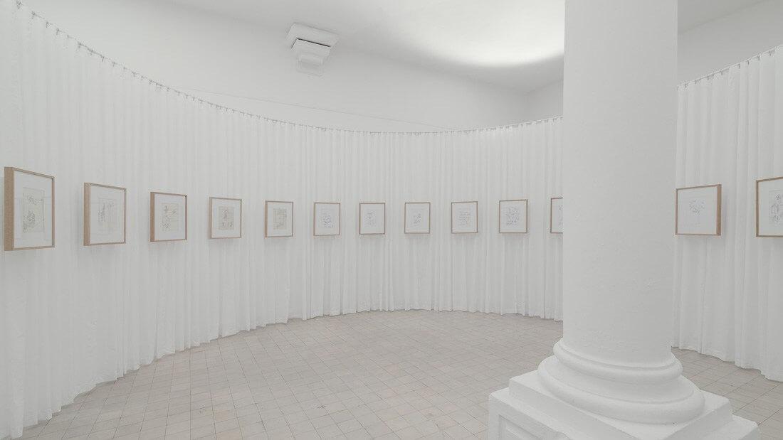 Exposição João Mendes Ribeiro: Vinte e Dois Desenhos