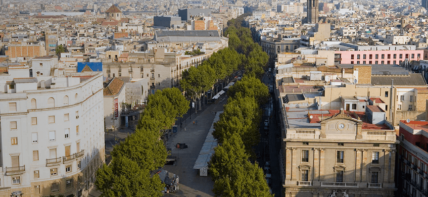 El Ayuntamiento de Barcelona convoca un concurso internacional para la transformación de la Rambla