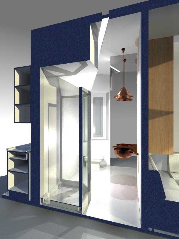 Estudo Prévio 3D – Projecto de Reabilitação em Lisboa