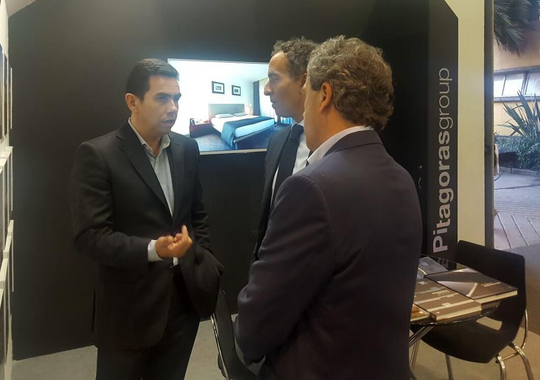 Embaixador de Portugal na Colômbia visita Stand da PitagorasGroup na Expoconstrucción & Expodiseño 2017