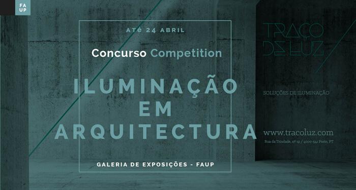 """Concurso CRIA 2018 – """"Iluminação em Arquitetura"""""""