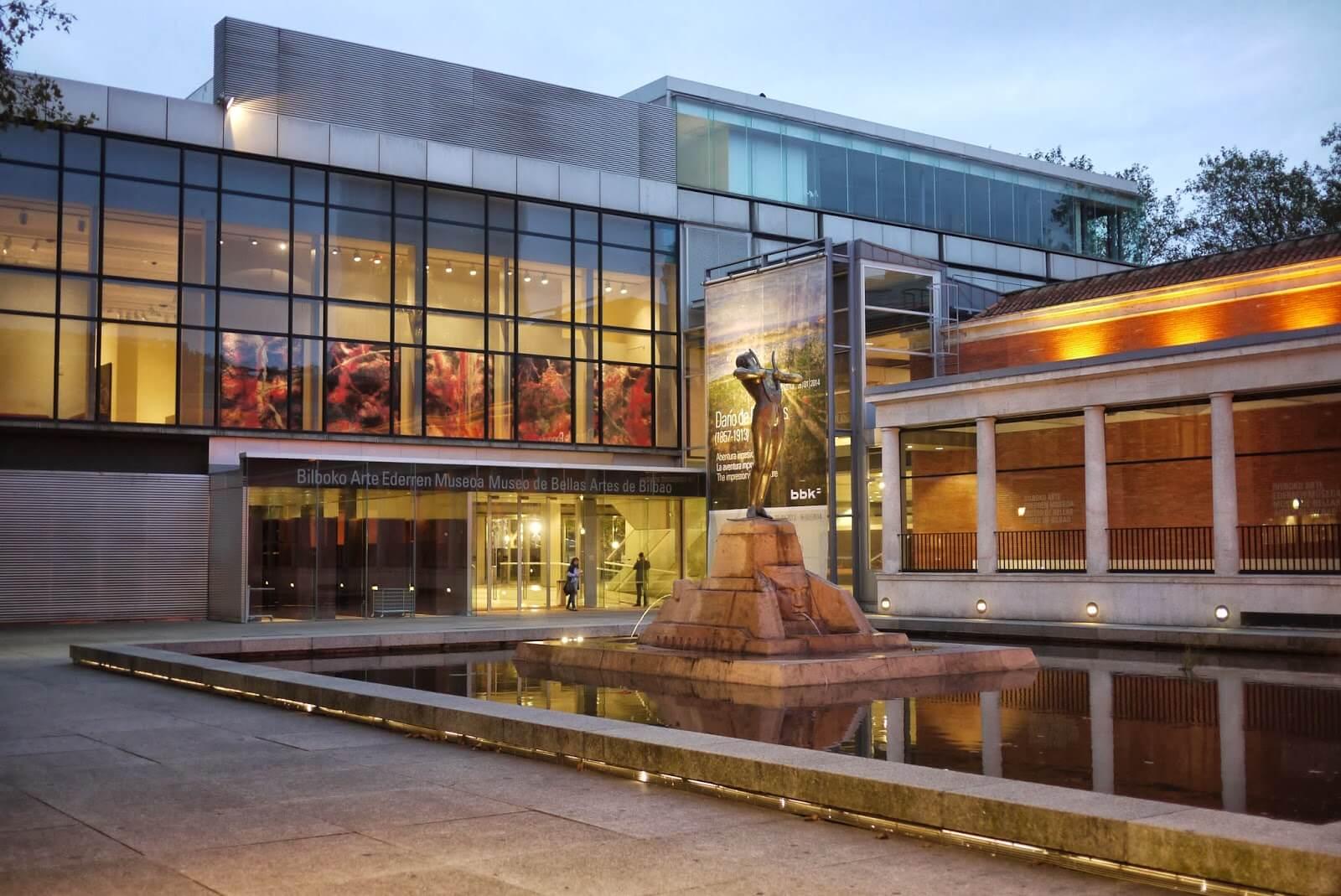 Reabilitação e ampliação do Museu de Belas Artes de Bilbao