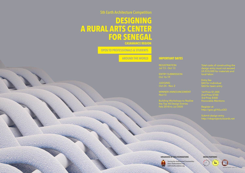 Designing a Rural Arts Centre for Senegal