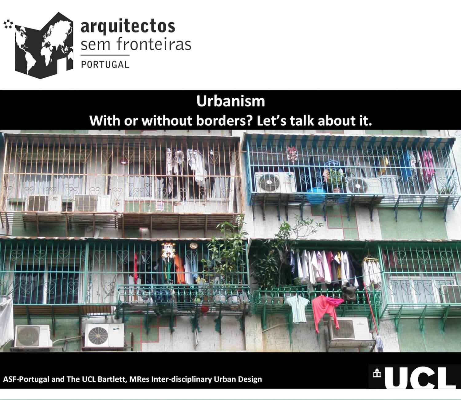 Urbanism: With or Without borders?