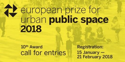 Prémio Europeu para Espaço Público Urbano 2018