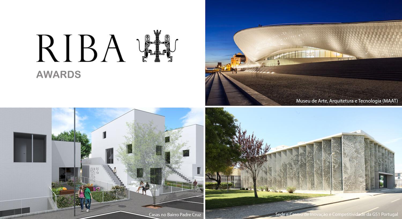 Três projetos em Lisboa selecionados para prémio internacional de arquitetura RIBA