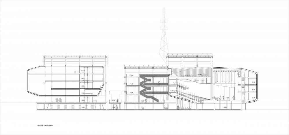 Projecto para o novo Centro Cultural Fábricas La Cros