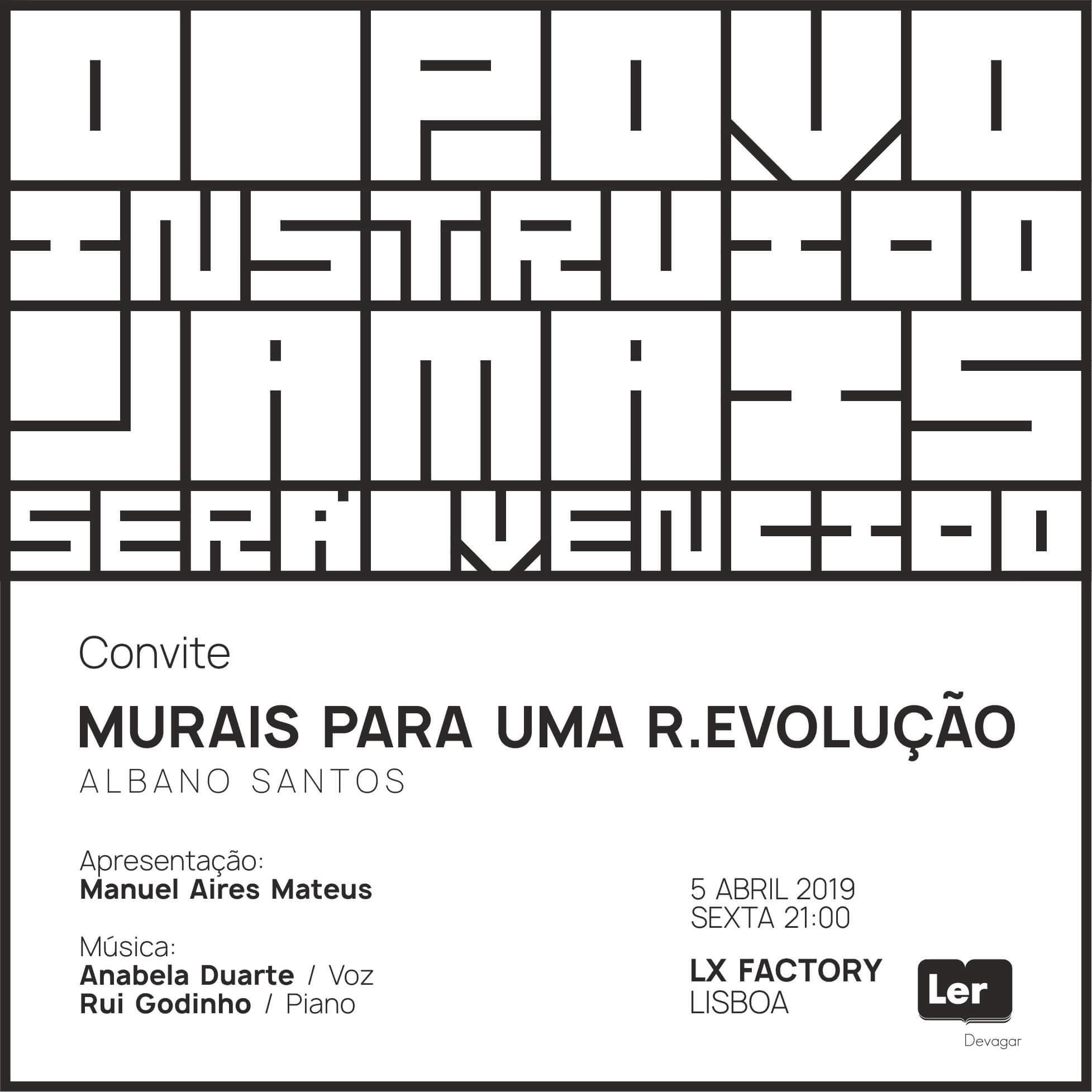 MURAIS PARA UMA R.EVOLUÇÃO