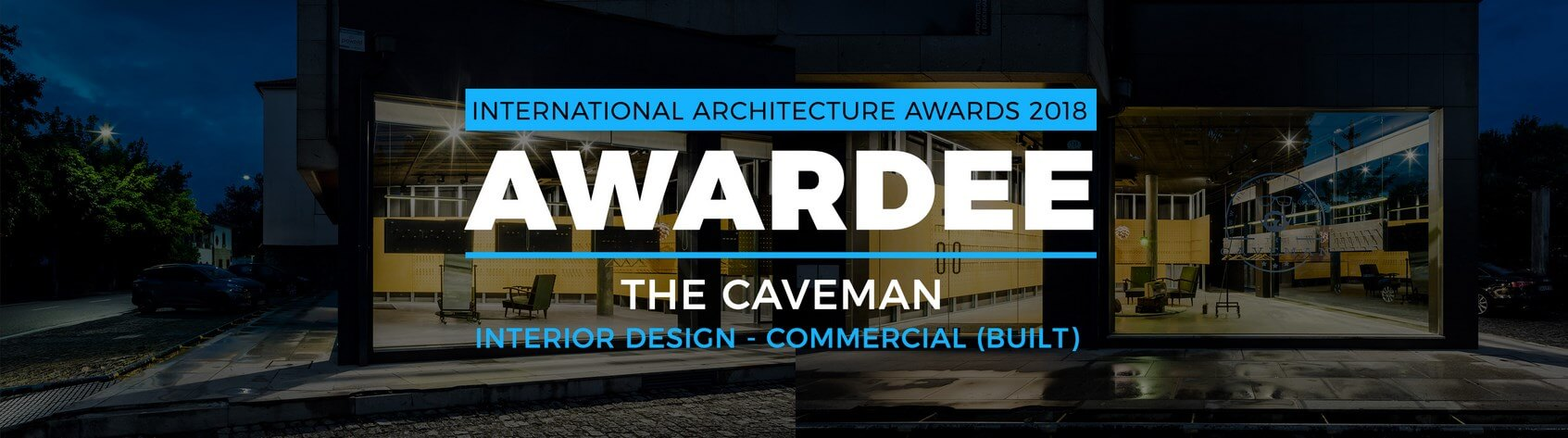 """The Caveman"" de Tiago do Vale Arquitectos distinguido com 3º prémio nos International Architecture Awards"