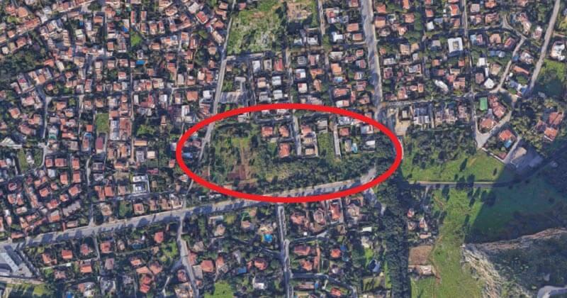 Centro escolar na zona norte de Palermo, Itália