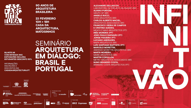 """Seminário """"Arquitetura em Diálogo: Portugal e Brasil"""""""