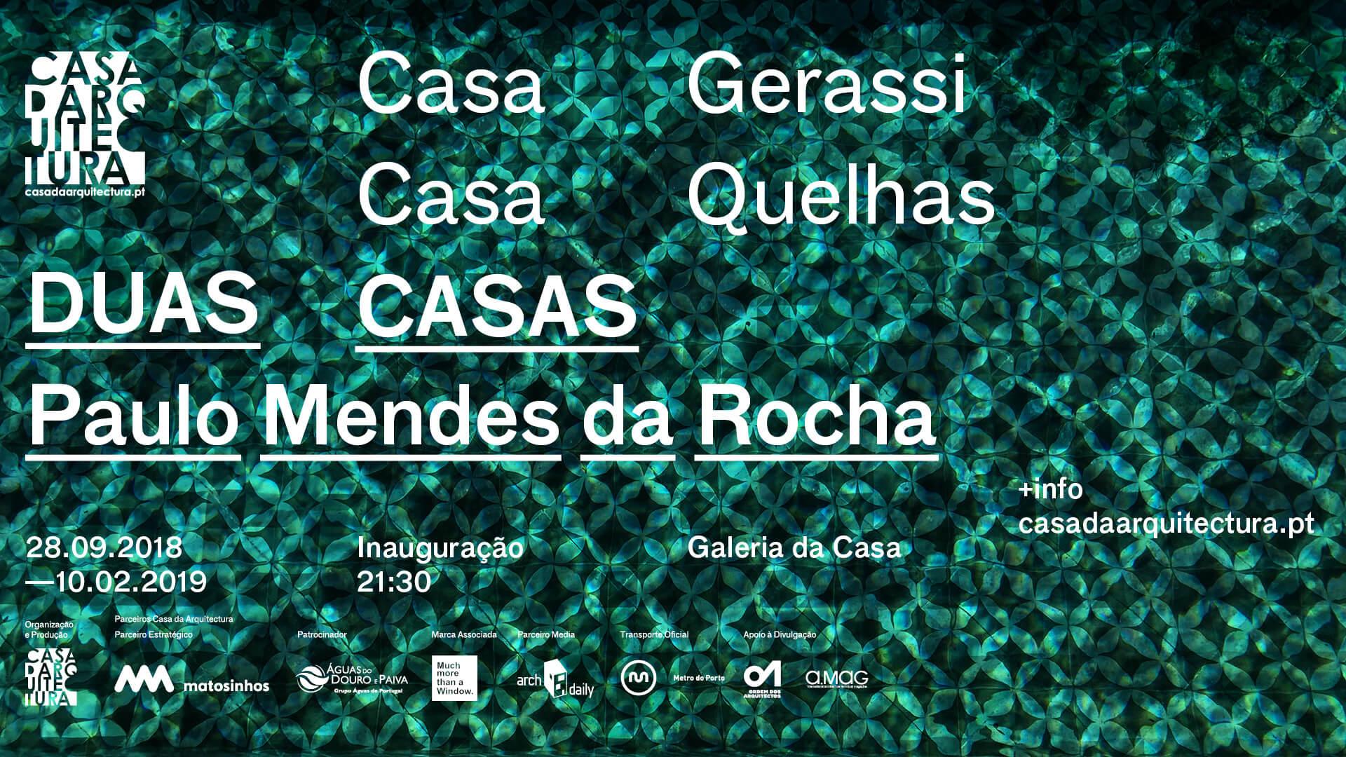 Duas Casas de Paulo Mendes da Rocha
