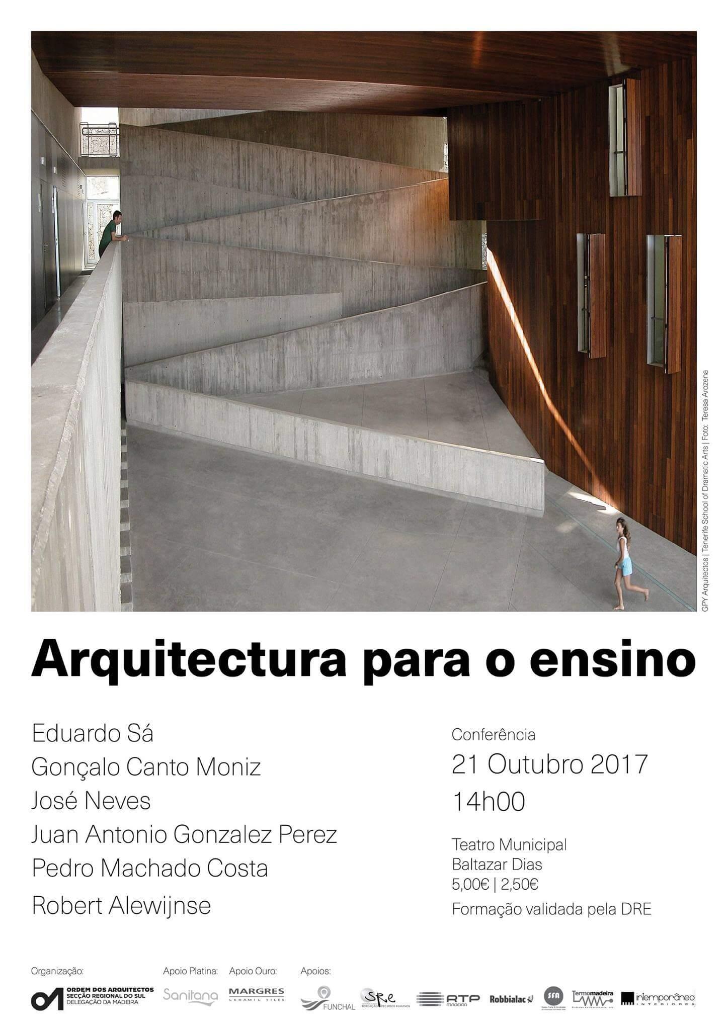 Conferência Internacional – Arquitectura para o Ensino