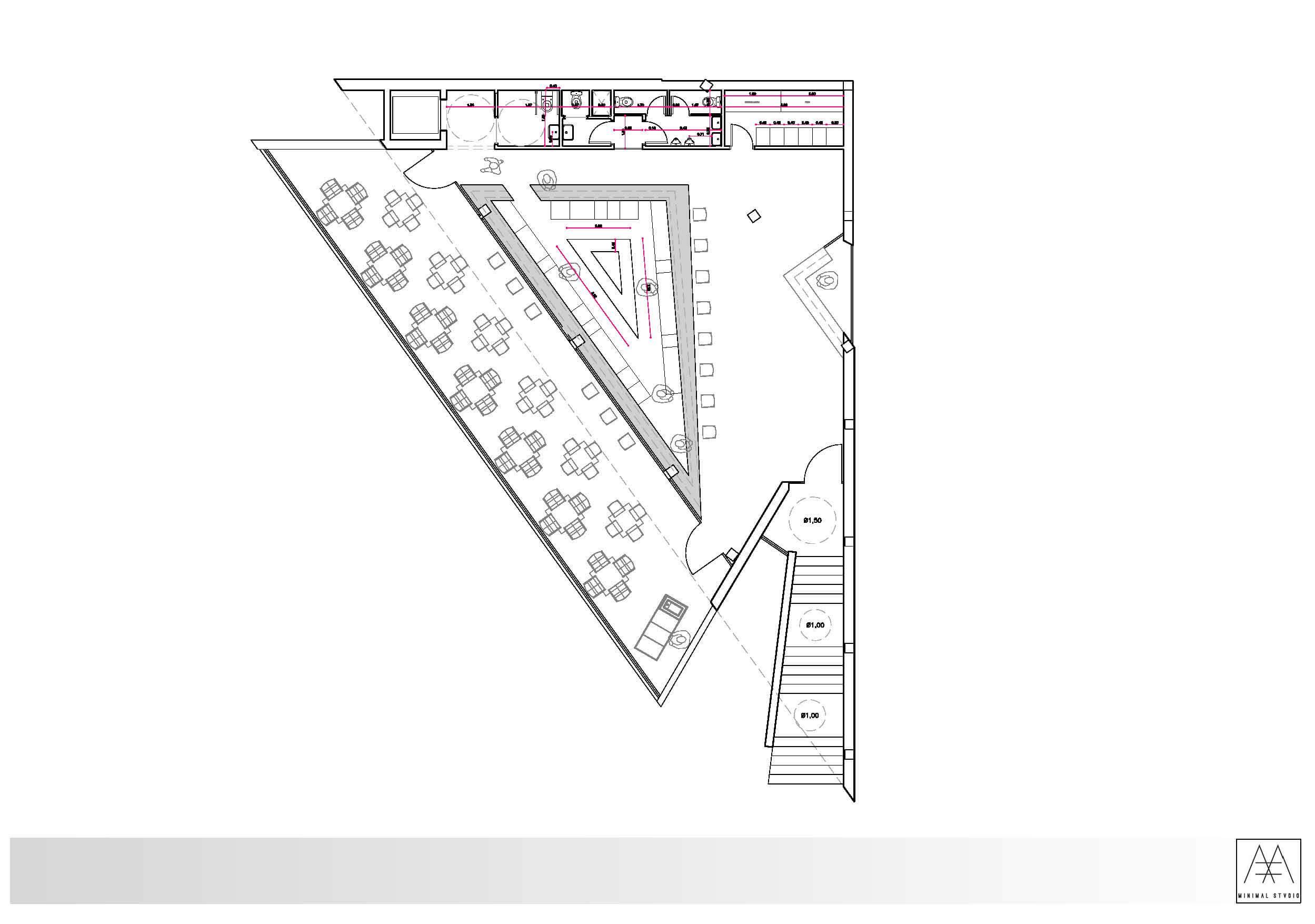 Uma proposta minimalista para o D3 Lounge