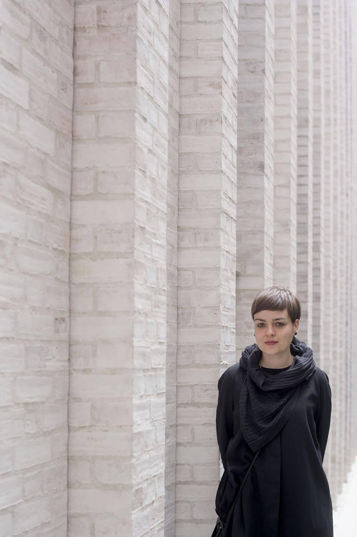 Architecture Finalist Anna Puigjaner inside of One Kensington Gardens, London