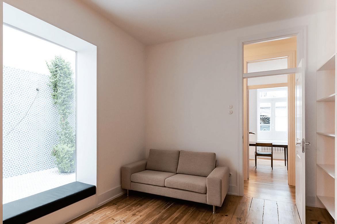 Remodelação de um apartamento no Chiado