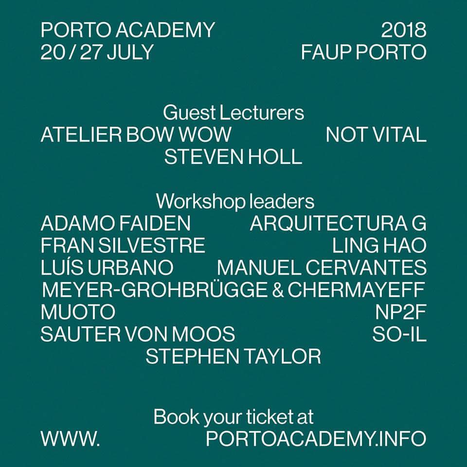 6ª edição da Summer School da Porto Academy