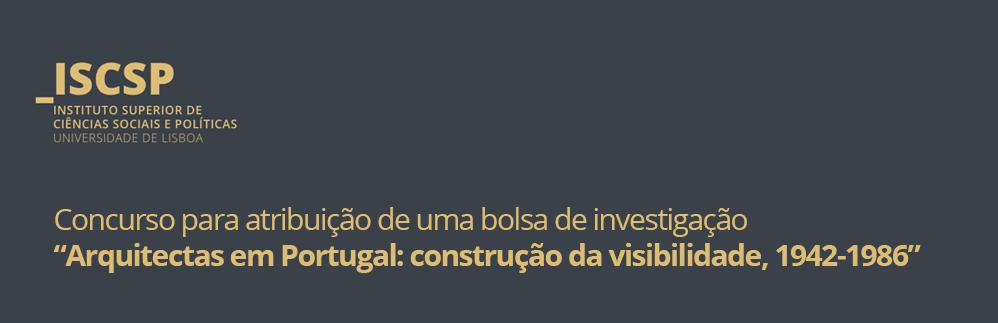 Arquitectas em Portugal: construção da visibilidade, 1942-1986