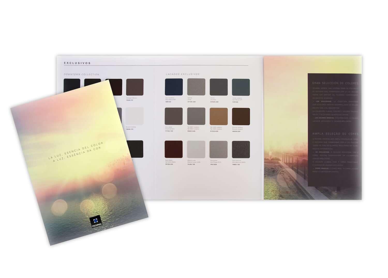 A luz, essência da cor. A Technal apresenta a sua nova carta de cores