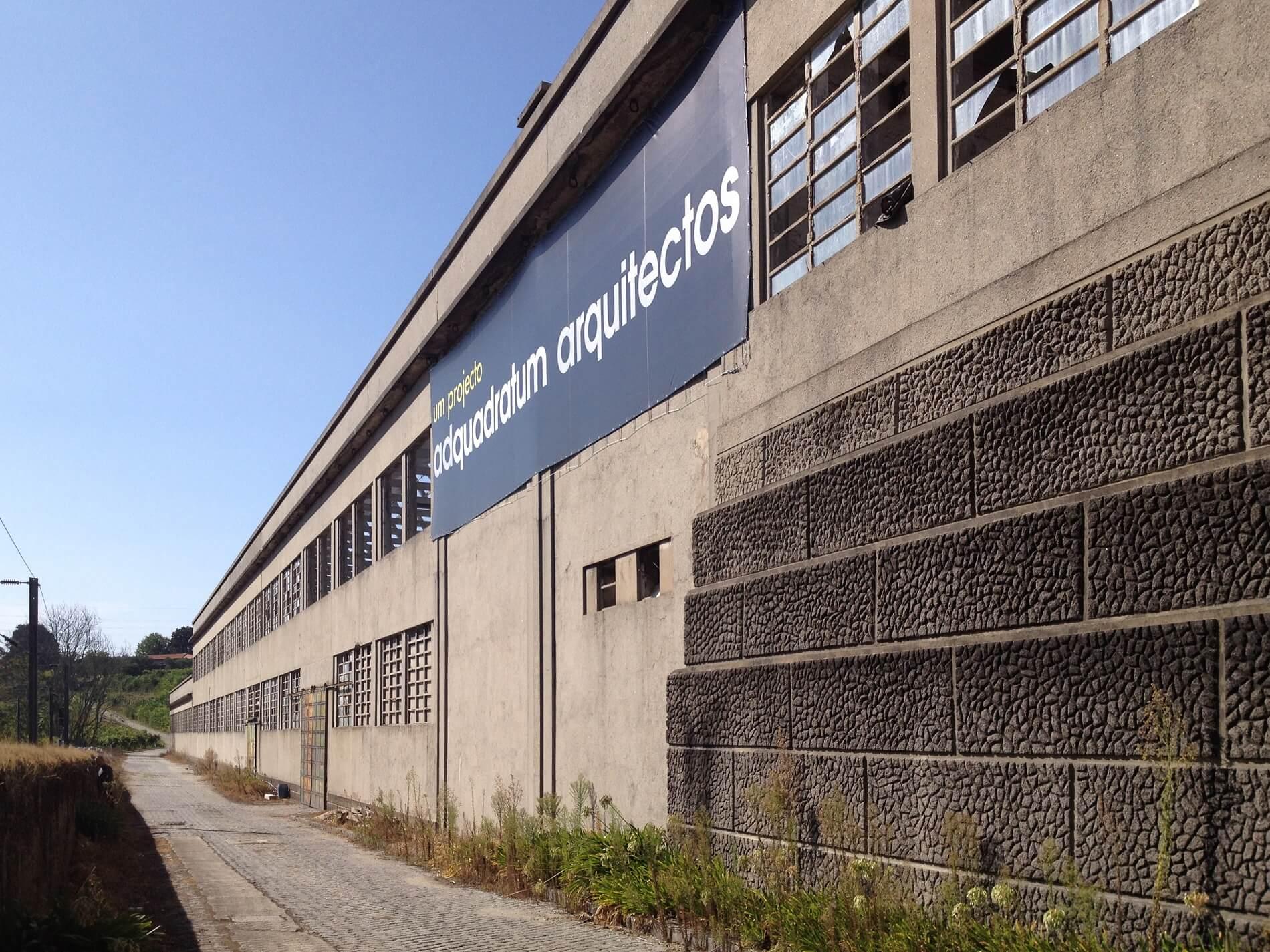 A primeira fábrica de fiação do país está a ser recuperada