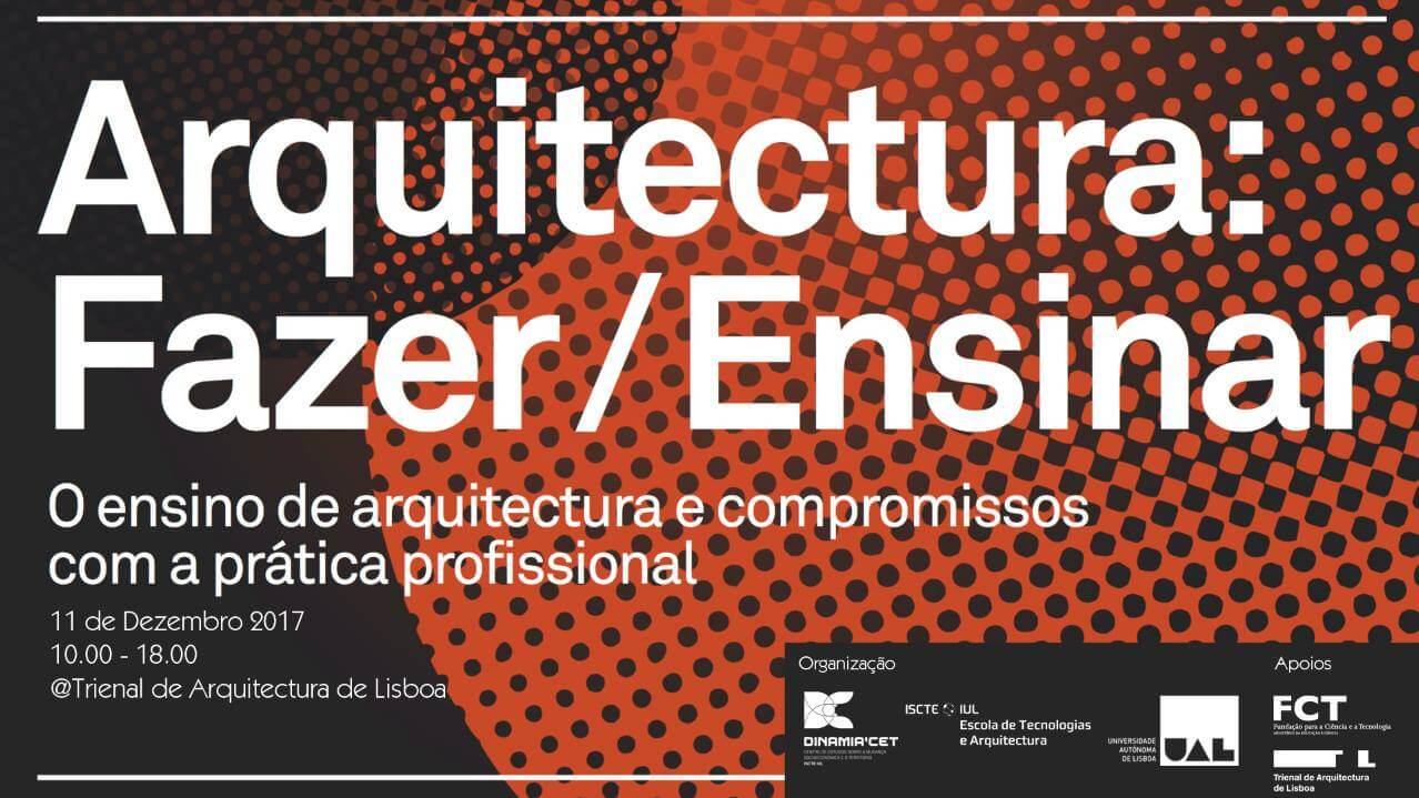 Arquitetura: Fazer / Ensinar