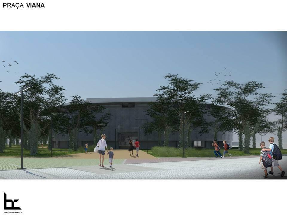 Reconversão de Praça de Touros de Viana em Complexo Desportivo