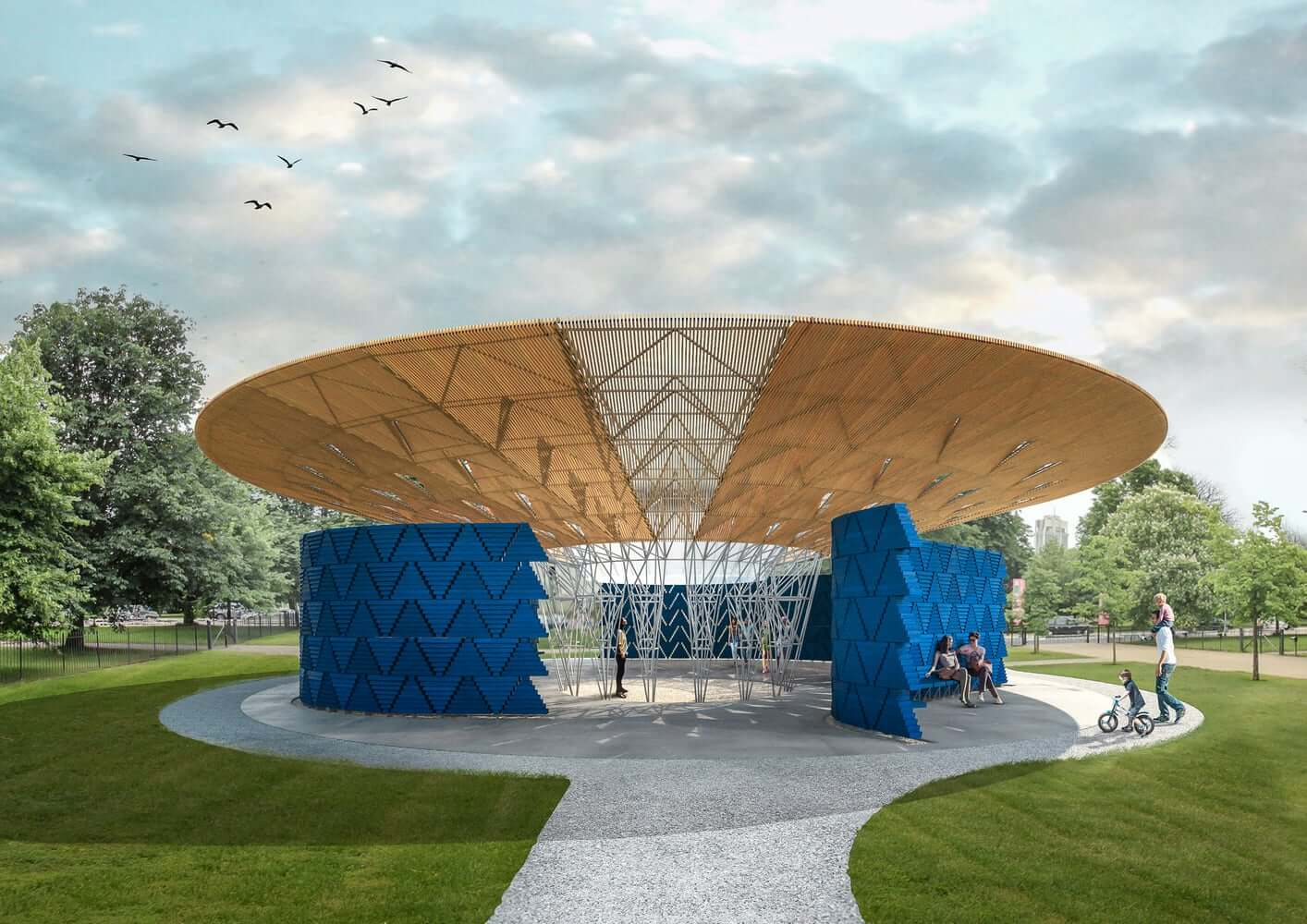 Francis Kéré escolhido para projetar o Serpentine Pavilion 2017