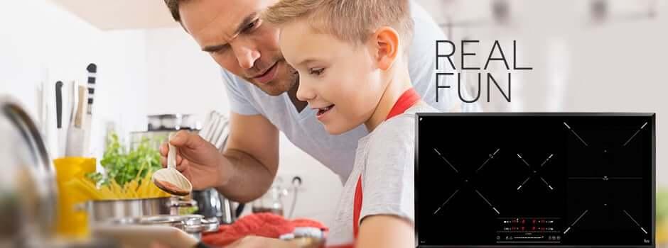 Novas placas de indução Teka: Cozinhar com precisão e de forma intuitiva
