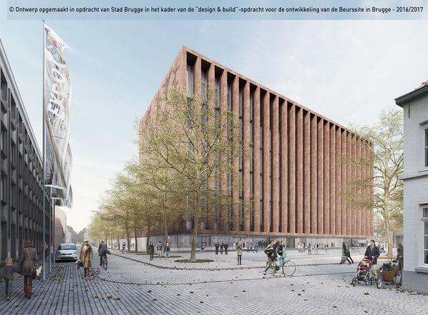 """Eduardo Souto de Moura e Meta Architectuurbureau vencem o Concurso do novo """"Centro de Congressos de Brugge"""", na Bélgica"""