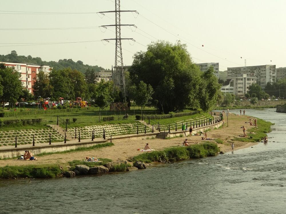Plano de desenvolvimento para as margens do rio Somes, Roménia