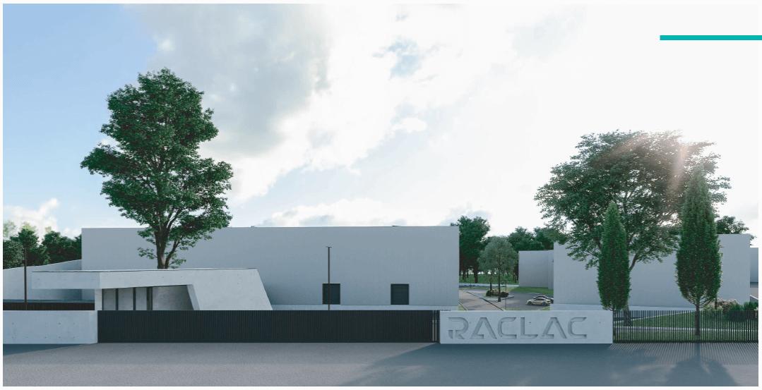 Raclac confia a construção de fábrica à Gabriel Couto