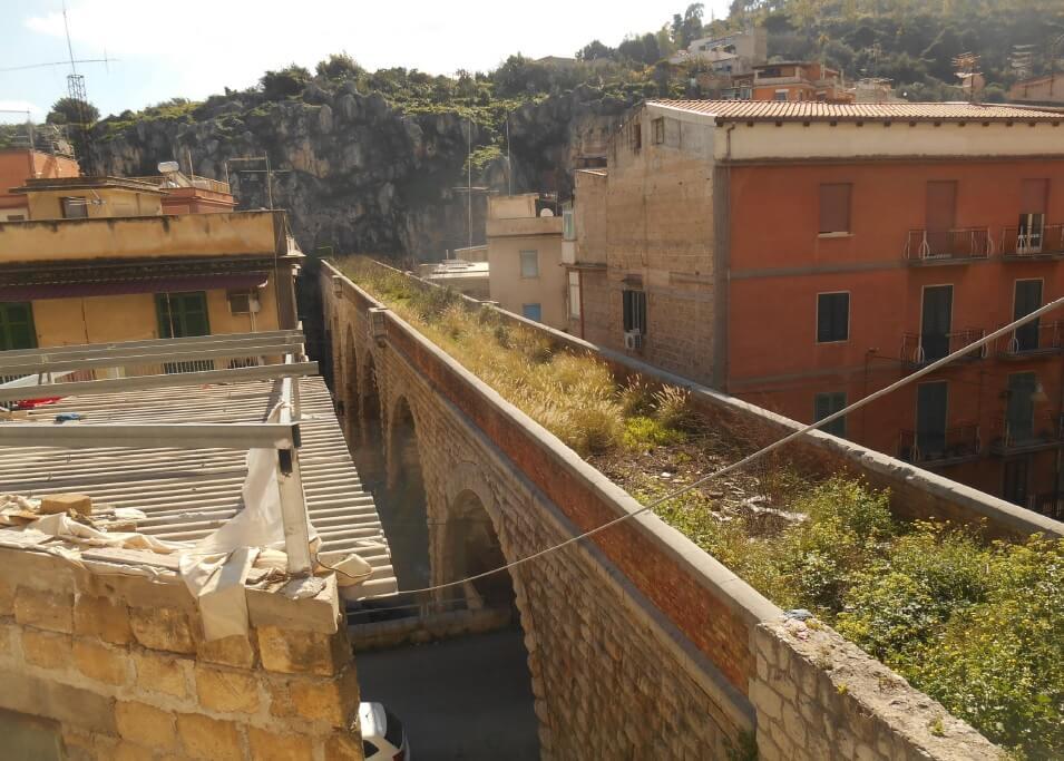 Percurso verde em linha férrea desactivada, Palermo