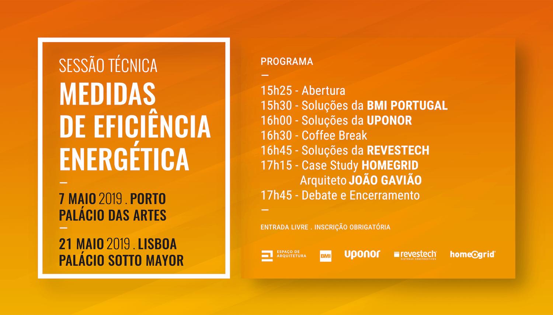 Medidas de Eficiência Energética . Porto e Lisboa