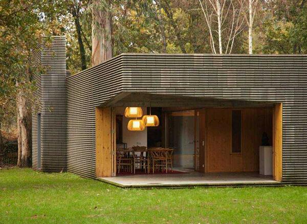 Bouça das Cardosas Houses, com Blocos Mursom® Leca®. Projecto dos arquitectos: Filipa Guerreiro e Tiago Correia.