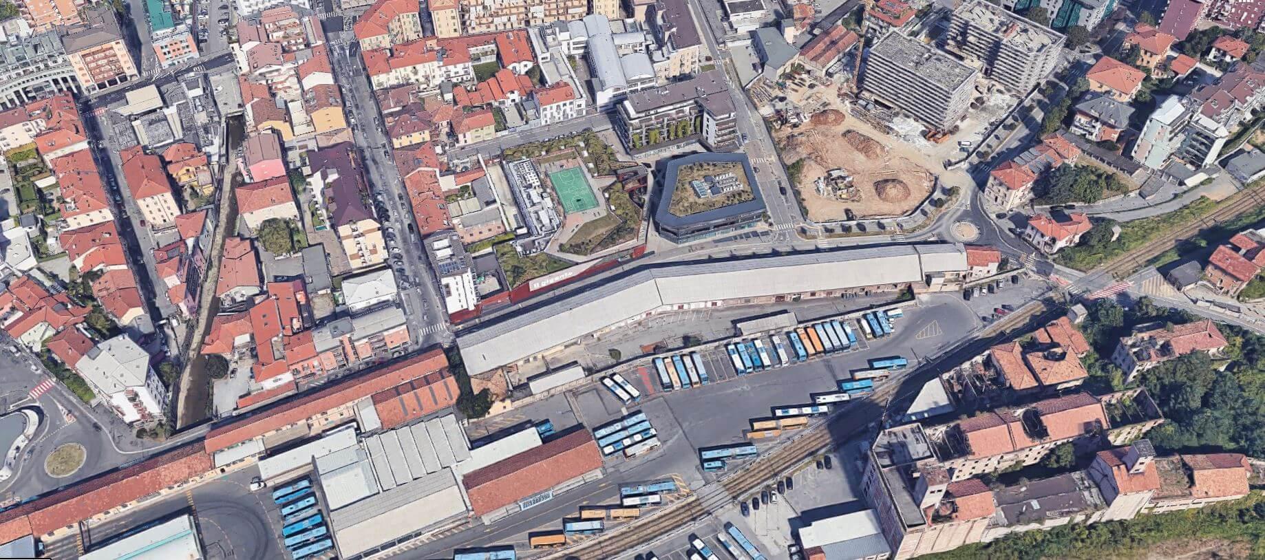 Requalificação de antigo complexo agrícola em Bergamo . Itália