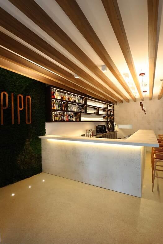 Restaurante Pipo escolhe Dekton®