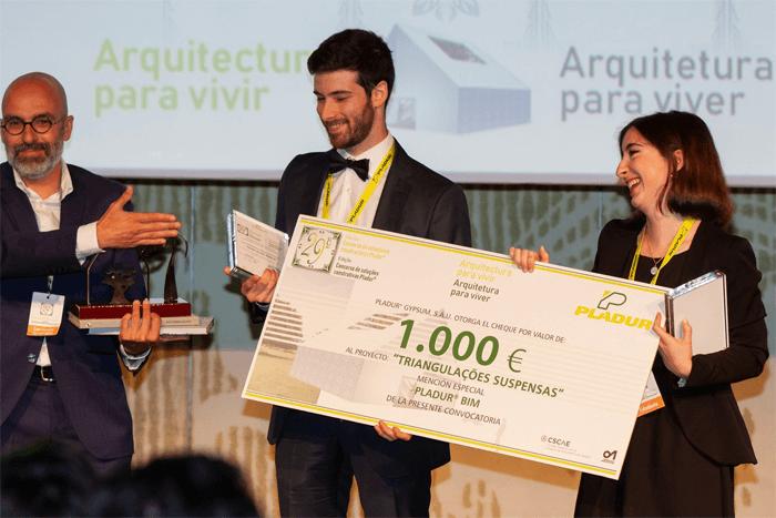 Estudantes da FAUP premiados no Concurso Pladur 2019
