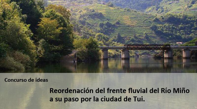 Reordenação da frente fluvial de Tui . Galiza