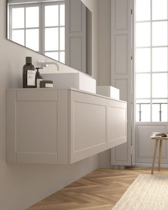 Novidade! Nova porta emoldurada no mobiliário da Codis Bath
