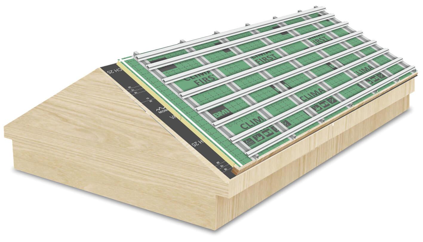 Sistema para Telhados Tectum® –  First