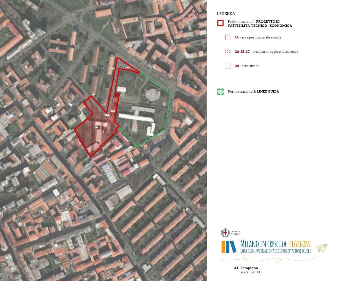 Escola Secundária em Milão . Itália