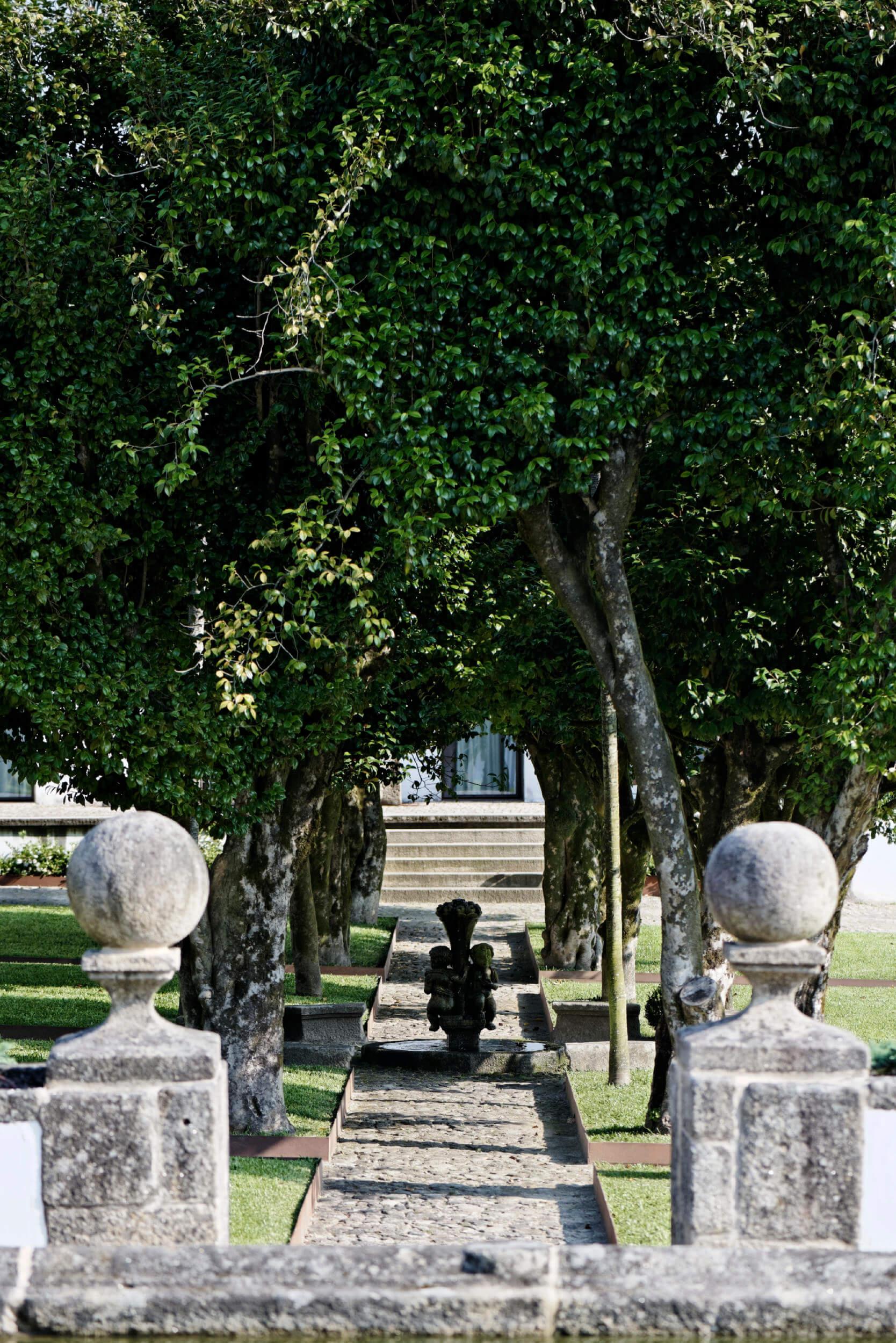 Recuperação do Jardim Histórico do Paço de Vitorino Hotel