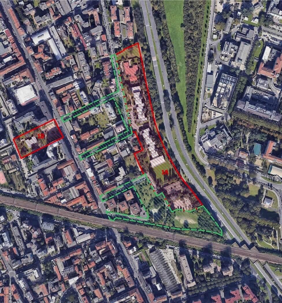 Complexo Escolar Scialoia . Milão